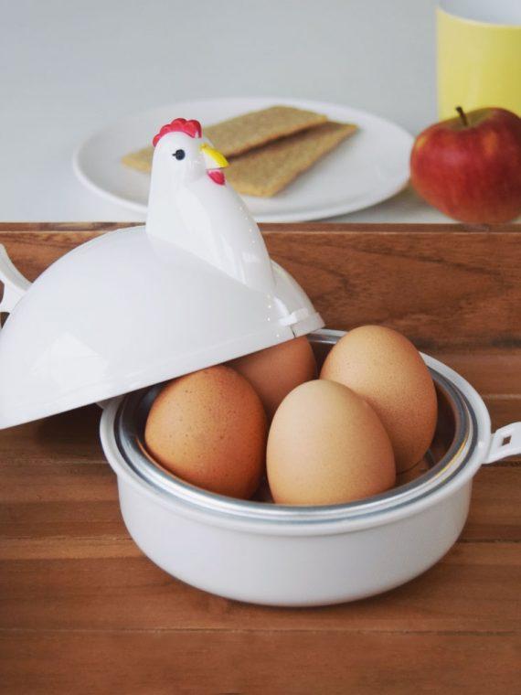 Magnetron Eierkoker – 4 stuks