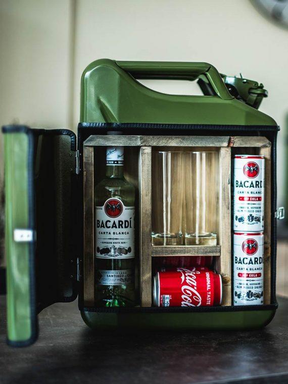 Jerrycan Bar – Sterke Drank