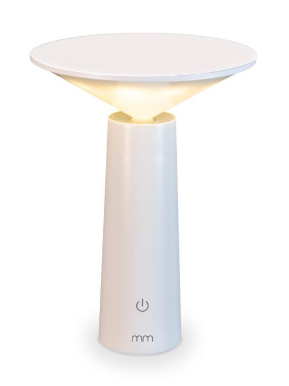 Tafellamp Design – Draadloze Lamp met Touch – Wit
