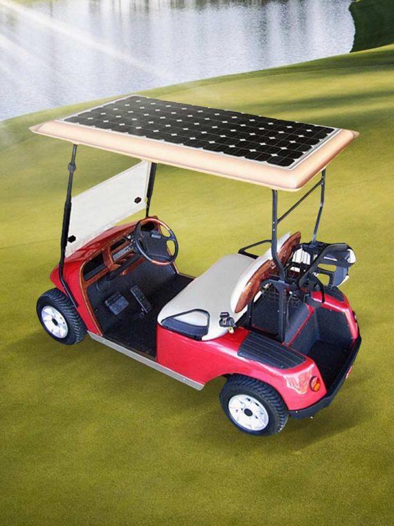 Solar Golf Caddy
